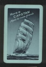 Advertising  playing cards Capstan cigarettes circa 1930's.